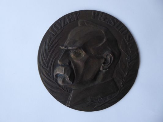 NIEWSKA Olga Marszałek Piłsudski [plakieta]