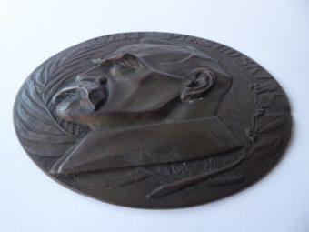 NIEWSKA Olga - Marszałek Piłsudski [plakieta]