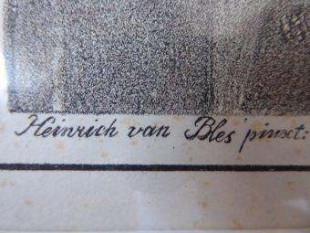 Heinrich van Bles - Artemise [litografia]
