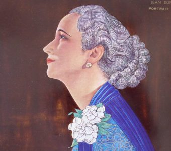 DUNAND JEAN - Portret kobiety [druk artystyczny]