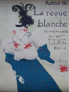 HENRI deTOULUSE-LAUTREC - Autour de la Revue Blanche [plakat]