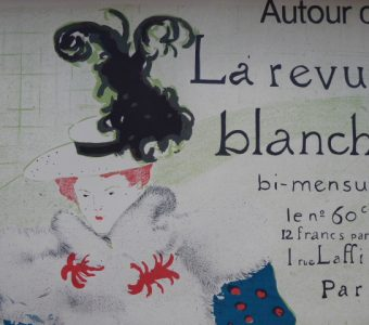 HENRI deTOULUSE-LAUTREC - Autour de la Revue Blanche [litografia]