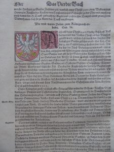 MUNSTER SEBASTIAN - Mapa Polski [Kosmografia z 1592 r.]