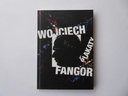DĄBROWSKI PIOTR Wojciech Fangor. Plakaty [katalog z autografem]