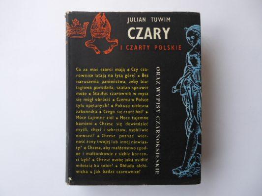 TUWIM JULIAN Czary i czarty polskie oraz wypisy Czarnoksięskie