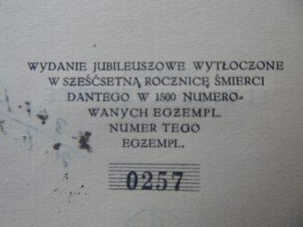 DANTE ALIGHIERI - Boska komedja