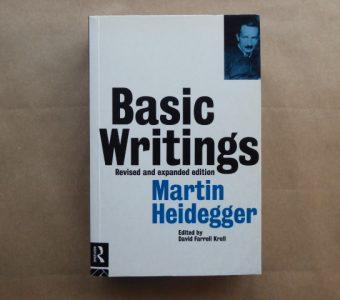 HEIDEGGER MARTIN - Basic writings