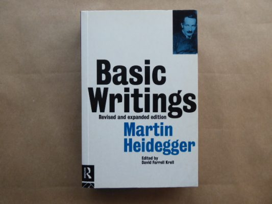 HEIDEGGER MARTIN Basic writings