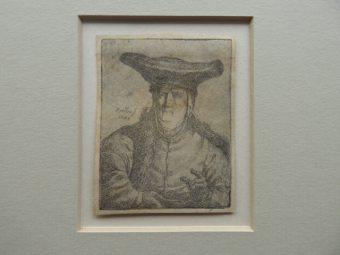 NORBLIN de la GOURDAINE JAN PIOTR - Portret kobiety [akwaforta]