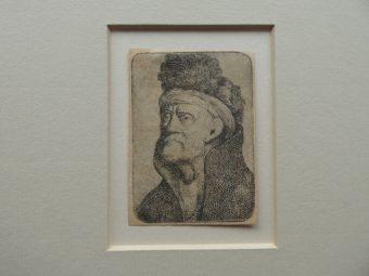 NORBLIN de la GOURDAINE JAN PIOTR - Portret mężczyzny [akwaforta]