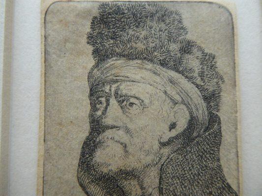 NORBLIN de la GOURDAINE JAN PIOTR Portret mężczyzny [akwaforta]