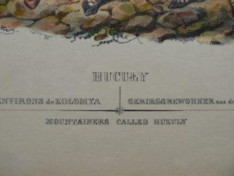 [Lewicki Jan Nepomucen]. Zienkowicz Leon - HUCUŁY [stroje polskie, litografia]