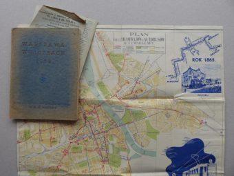 Warszawa w liczbach 1939 [z planem miasta]