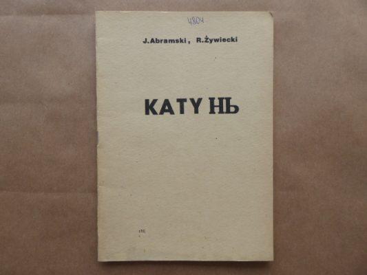 Abramski J., Żywiecki R. Katyń