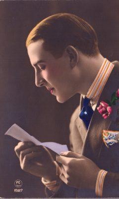 List od ukochanej [pocztówka]