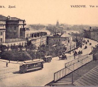 Warszawa. Zjazd [pocztówka]