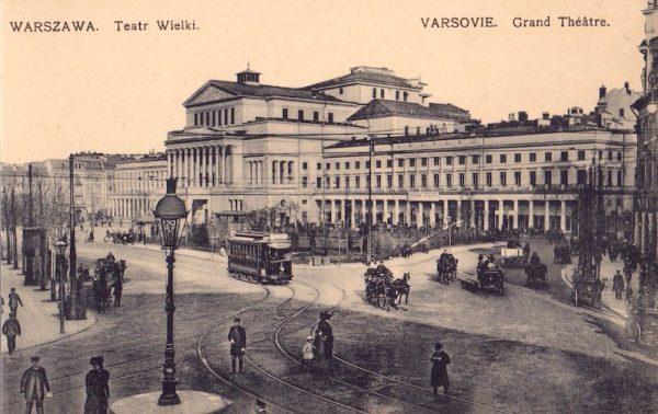 Warszawa. Teatr Wielki [pocztówka]