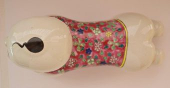 Zagłówek do palenia opium [porcelana, Chiny]