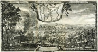 PUFENDORF SAMUEL, DAHLBERGH ERIK - Brześć Litewski [miedzioryt, 1696]