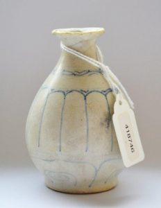 Wazonik z porcelany [Chiny, XVI w.]