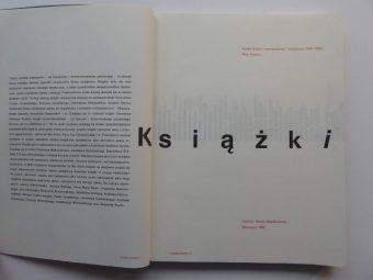 RYPSON PIOTR - Książki i strony. Polska książka awangardowa i artystyczna 1919-1992