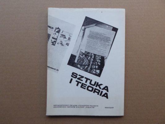 praca zbiorowa Sztuka i Teoria [ trzy katalogi z dedykacją dla Natalii LL]