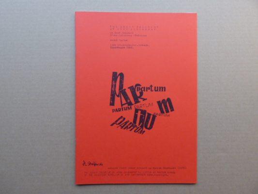 PARTUM ANDRZEJ Partum [katalog]