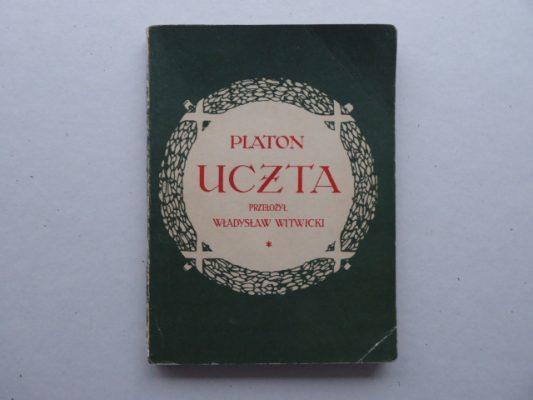 PLATON Uczta. Dialog o miłości