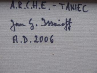 ISSAIEFF JAN GRZEGORZ - A.R.C.H.E. – Taniec [akryl na płótnie]