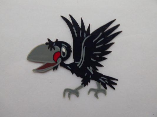 zespół Wrona, postać z bajki [folia animacyjna]