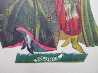STRYJEŃSKA ZOFIA - Polonez [pocztówka]
