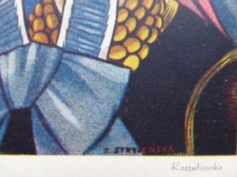 STRYJEŃSKA ZOFIA - Kaszubianka [pocztówka]