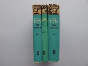 SENEKA LUCJUSZ ANNEUSZ - Pisma filozoficzne, O zjawiskach natury [3 vol.]