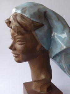 Piękna proletariuszka [rzeźba]