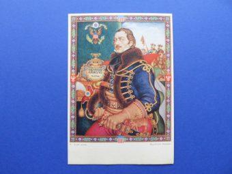 SZYK ARTUR - Obrazy z Chlubnych Dni Braterstwa Polsko-Amerykańskiego [komplet pocztówek]
