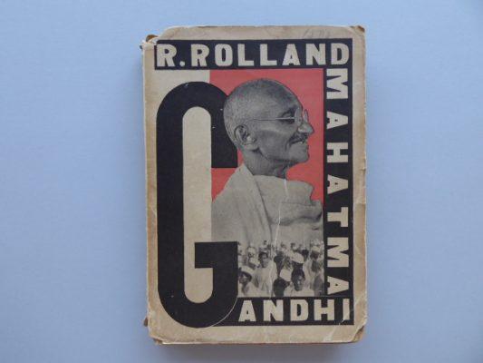 ROLLAND ROMAIN Mahatma Gandhi. Opowieść o proroku Indji [okładka M. Berman]
