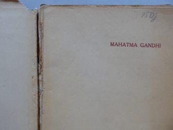 ROLLAND ROMAIN - Mahatma Gandhi. Opowieść o proroku Indji [okładka M. Berman]