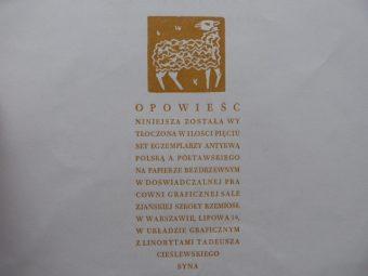 BECHCZYC RUDNICKA MARIA - Malerza Raweńskiego Owieczek Dwanaście
