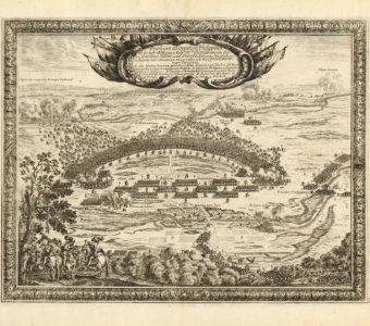 PUFENDORF SAMUEL, DAHLBERGH ERIK - Bitwa pod Filipowem w 1656 r. [miedzioryt]