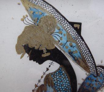 NEUMANN NINA - Dama z parasolką [rysunek]