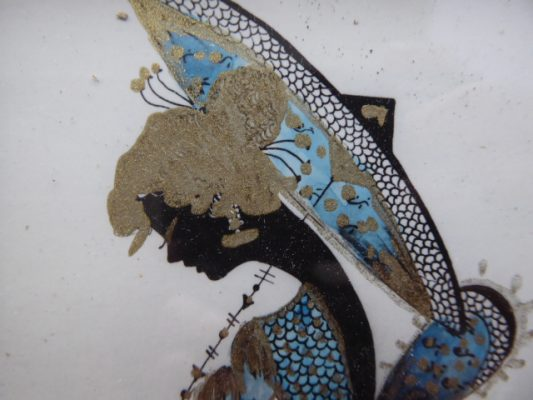 NEUMANN NINA Dama z parasolką [rysunek]