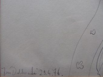 DOBKOWSKI JAN - Kompozycja [rysunek ołówkiem]