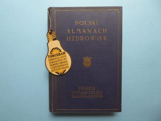 praca zbiorowa Polski almanach uzdrowisk [egz. z dedykacją od autora]