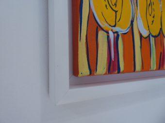 DWURNIK EDWARD - Tulipany [akryl na płótnie]