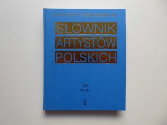 praca zbiorowa - Słownik artystów polskich t. 1-10 [komplet wydawniczy]