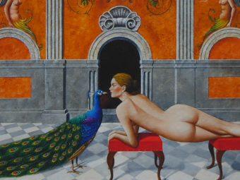 OLBIŃSKI RAFAŁ - Don Giovanni [serigrafia]