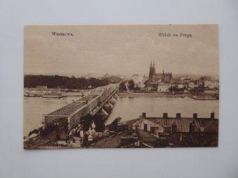 Warszawa. Widok na Pragę [pocztówka]