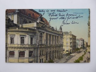 Warszawa. Filharmonja [pocztówka]