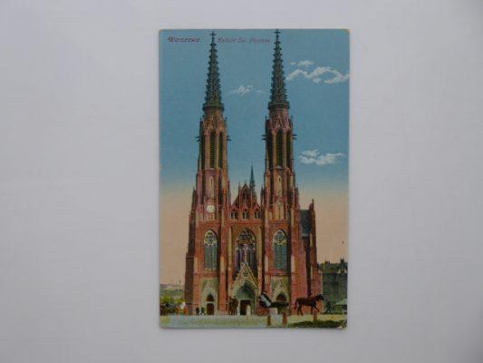 Warszawa. Kościół Św. Florjana [pocztówka]