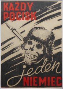CHMIELEWSKI HENRYK - Każdy pocisk jeden Niemiec [plakat]